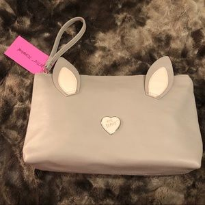 Betsey Johnson Bunny Cosmetic Bag